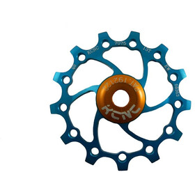 KCNC Original Jockey Wheel 12T SS Bearing Long Teeth, blue